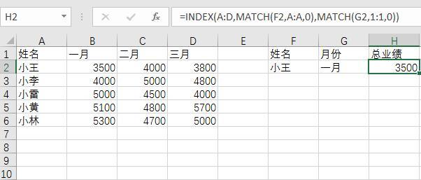 index函数